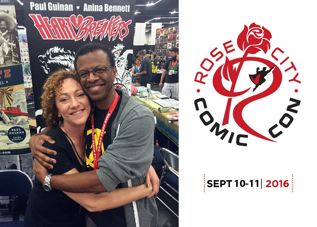 Rose City Comic Con 2016