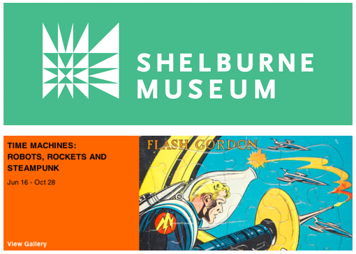 """Time Machines: Robots, Rockets and Steampunk"" Museum Exhibit"
