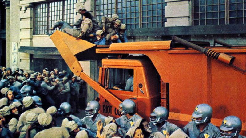 soylent green overpopulation essay Overpopulation, food riots, and severe pollution are the norm  thorn gives roth the soylent oceanographic  soylent green by today's movie-making standards .
